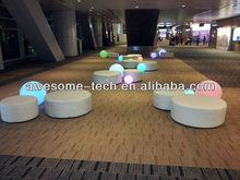 lit up lounge decorations