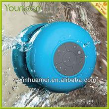 waterproof Bluetooth shower speaker box BTS-06 support Siri talking and stereo music