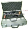handled aluminium rifle gun case at affordable price and gun foam mould inside