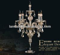 Wedding deocration crystal chandelier table lamp
