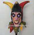 el 2013 más altos de venta mardi gras máscaras de látex para el vestido de lujo ideal de halloween scary máscaras de payaso