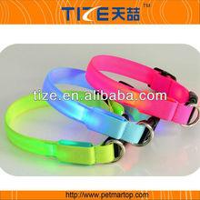 2014 designer dog collars PET2110 illuminated dog collar