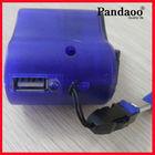 mobile phone dynamo hand crank usb charger