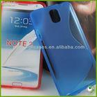 For Samsung galaxy note 3 tpu case cover s line soft tpu skin housing