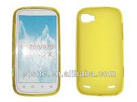 Plain TPU Cell Phone Case For ZTE Grand X U970 V970
