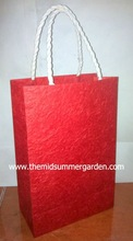 Mulberry paper gift bag, Saa paper gift bag, Thai manufacturer Mulberry paper bag wholesale