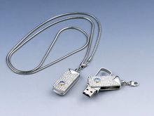electronic novelities usb crystal, gift usb 2.0 driver