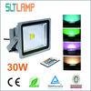 2013 hot-sale IP65 30W DMX RGB led flood light with remote control