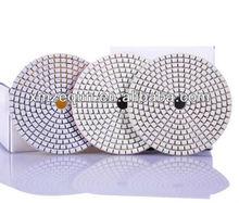 diamond resin bond polishing pads for granite