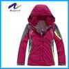 lady waterproof polyester windbreaker jackets