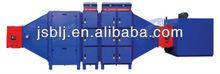 electrostatic precipitator for textile/PVC industry
