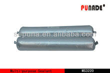 Oil resistant construction steel pipe silicone sealant