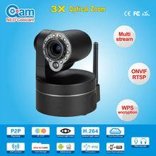 Megapixel HD PTZ H.264 720P mini IR nightvision hidden network Wireless video digital wifi Camera ip SD card and zoomNEOcoolcam
