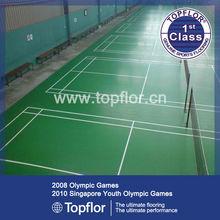 Indoor Sports PVC Flooring Badminton Surface