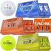 SPALDING V-I-D Pearl Color Golf Ball branded golf balls