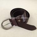 Nuevo Brown de alta calidad importada Cinturón de cuero genuino