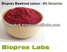 Red colour for food (beet root powder)