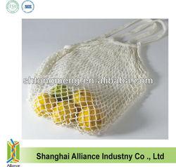 New style cotton material mesh lemon/ fruit /shopping bag