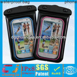 newest waterproof phone bag for samsung galaxy s3 protective case with IPX8 certificate for underwater sports