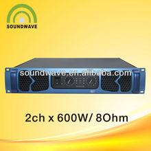 pro audio power amplifier 600W/stage sound system amplifier