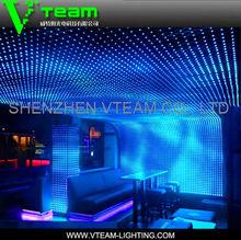 magic curtain screen/Flexible Curved Curtain LED Screen electronics
