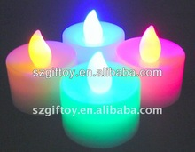 flahsing led candle with color box packing