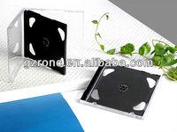 Guangzhou Wholesale 10.4mm black CD case double