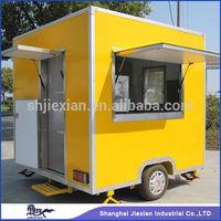 Shanghai 2013 Fibreglass Food Van,Breakfast Mobile cart JX-FS250