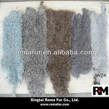 Various Colors Factory Price Curly Kalgan Fur Skins