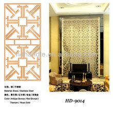 Decorative laser cut screens for hotel, restaurant and villa