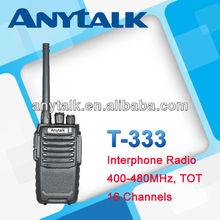 T-333 16 channels 2 way radio 400-480mhz