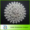 Large Crystal Brooch Pins,rhinestone embellishment for Wedding