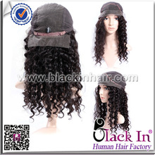 Remy human hair full lace curly afro wigs for black women