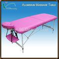 Lettino da massaggio, tavolo in alluminio, mssage letto