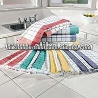 Multi Check Kitchen Tea Towel