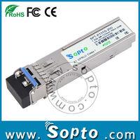 High Quality Fibre optic cisco 1.25G SFP module