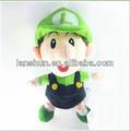 """Super Mario Brothers Bros suave felpa muñeca de juguete - Luigi BB bebé 23 cm / 9 """""""