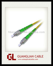 Low insertion loss and High return loss fc/lc fiber optic patch cord 5m for FTTH solution