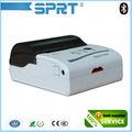 Mini impressora de recibos térmica escritor leitor de cartão sim card