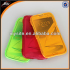 Flip transparent tpu cover for samsung galaxy N7100/Note2
