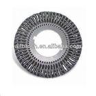 360MM diameter Knot Twist Wire Brush, Double Keyway