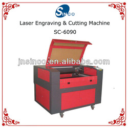 SC-6090 laser engraver machinery for paper cutting in jinan China