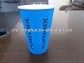 personalizado impreso el logotipo de desechables bebida fría