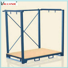 Stackable storage pallet of clothing rack