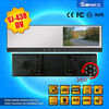 4.3'' dvr recording car rearview mirror monitor with high definition