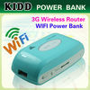 2013 New design Mobile Power Bank with WIFI receiver 4400-16000mah Free Customized