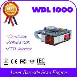 WDL1000 3d OEM laser embedded UPC QR barcode reader scan engine data collector TTL port identify decoder price