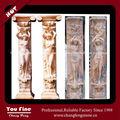 أعمدة رومانية منحوتة الكلاسيكية ديكور المنزل