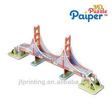 Los juegos de los niños eps puente golden gate modelo