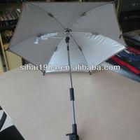 Chinese factory superman baby umbrella stroller umbrella
